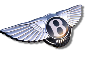 un ancien logo BENTLEY / an former BENTLEY logo