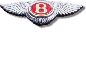 une variante ou un ancien logo BENTLEY / variant or former BENTLEY logo