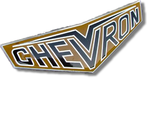 le logo CHEVRON actuel / the current CHEVRON logo