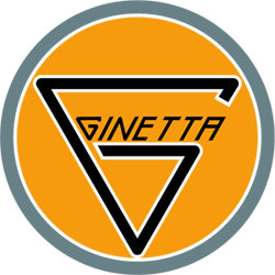 le logo GINETTA actuel / the current GINETTA logo