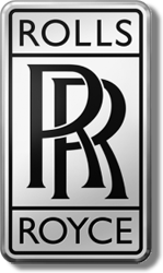 le logo ROLLS ROYCE actuel / the current ROLLS ROYCE logo