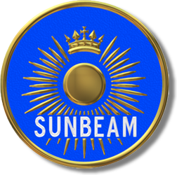 le logo SUNBEAM actuel / the current SUNBEAM logo